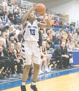 Carman-Ainsworth's Destiny Strother returns for her senior season and has already signed with Marquette to play at the collegiate level. Photo by Todd Boone