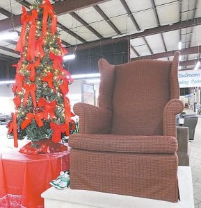 The Big Chair at Skaff. Photo provided