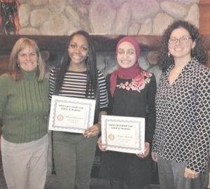 Collette Bryan, Diamond Lester, Human Ahmad, and Krystal Roos Courtesy photo
