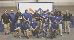 Members of the Megatron Oracles (Big MO) Team 314 from Carman-Ainsworth High School. Photos provided