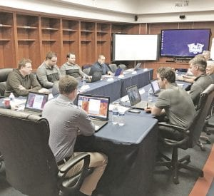 The Flint Firebirds prepare for the upcoming OHL Draft on Saturday. Photo courtesy Flint Firebirds