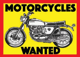 MOTORCYCLES WANTED *BEFORE 1985*. All Makes & Models. Running or Not. Any Condition. $$ Cash Paid. $$ Free appraisals. CALL: (315) 569- 8094 Or Email: Cyclerestoration@aol.com