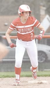 Swartz Creek's Olivia Hughes was selected to compete in the annual Bruin Class All- Star softball game. Photo by Todd Boone