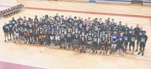 The 2019 Reaching Higher Boys' Basketball Team. Photos courtesy MHSAA