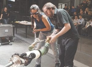 Glass working demonstrations are coming to the Flint Institute of Art starting August 23. Photo provided