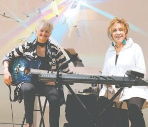 StoweGood, a musical duo who perform uplifting music and share inspirational messages.