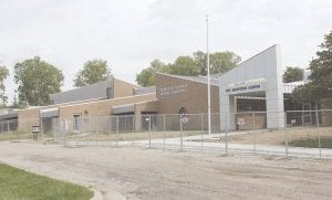 The exterior of Genesee County Animal Control as it undergoes an $8.2 million expansion. Photo by Gary Gould