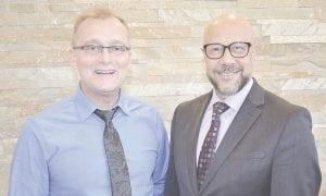 David Wood (left) and Dr. Hesham Gayar (right) Photos by Ben Gagnon