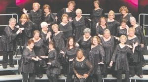 Song of the Lakes Sweet Adelines Chorus Photos provided