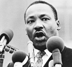 The Rev. Dr. Martin Luther King Photo provided