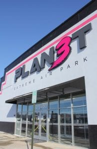 The exterior of Planet 3 Extreme Air Park. 3450 Miller Rd., where a 43-year-old Flint man was shot to death, Jan. 18. Photo by Gary Gould