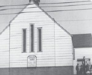 Atherton Road Methodist Church in Burton. Photo courtesy of the Burton Area Historical Society