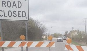 Work has begun on the new roundabout at the intersection of Grand Blanc and Morrish roads in Gaines Township. Photo by Lania Rocha