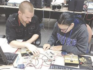 Mott Community College students working through Job Corps. Photo provided