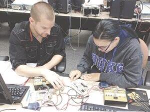 Mott Community College students working through Job Corps. Photo provided