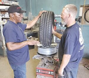 An eight-hour training program recently took place at Delta Tire in Burton. Photo provided