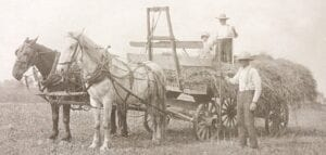 Early Burton area farmers from the Carpenter Family.
