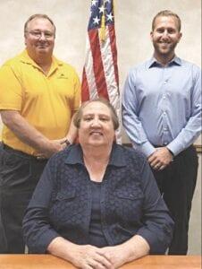 From left: Mark McGlashen, Kathleen Sudia and Granger Stefanko. Photo provided