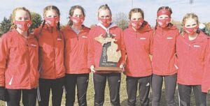 The Grand Blanc Girls Cross Country team. Photo provided