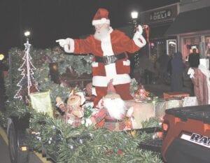A look back at Santa Claus riding in the 2019 Davison Christmas Parade. File photo