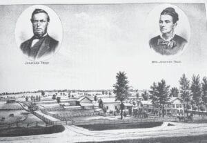 The Frost family from Atlas Township. Photo provided