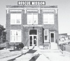 An early photo of the Carriage Town Mission. Photo provided