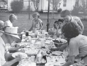 The photo is from the 1940's my family on the farm. Photo provided