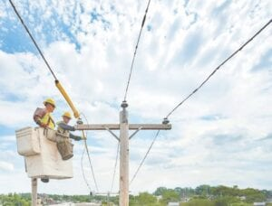 Military veterans with electrical experience are encouraged to join Consumers Energy's new Basic Electric Lineworker Apprentice program. Photo provided