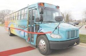 The new Genesee Intermediate School District Mobile Education Lab (MEL).