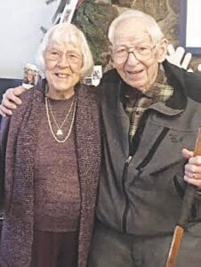 Jim and Marion Magyar recently celebrated their 75th anniversary. Photo provided