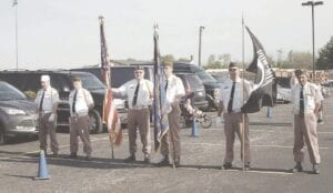 A look back at a previous Memorial Day celebration in Burton. File photo