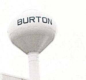 The Burton Water Tower File photo