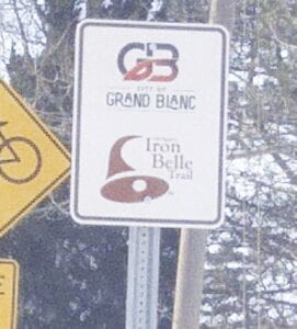 The Perry Road pathway in Atlas and Grand Blanc townships will link the Village of Goodrich to the trail system in the Grand Blanc area, and provide another link in the 2,000-mile Iron Belle Trail that ultimately will stretch from Belle Isle to Ironwood. Photo by Lania Rocha