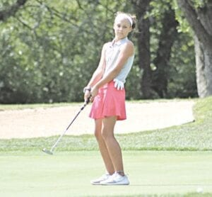 Grand Blanc teen Kate Brody is preparing for the Drive, Chip & Putt National Finals, coming up in April at Augusta National Golf Club. Courtesy photo