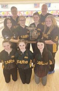 The Davison Girls' Varsity Bowling Team. Photo provided