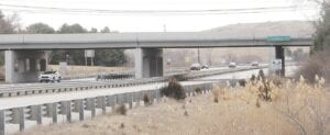The Grand Blanc Road bridge over U.S.23 is just one of several improvement projects planned for 16 bridges along the I-75/US-23 corridor in Genesee County. Photo by Gary Gould