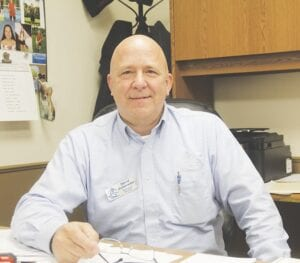 David Schmieder II is the new executive director of the Genesee County Humane Society. Photo by Gary Gould