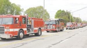 A look back at a previous Burton Memorial Day celebration. File photo