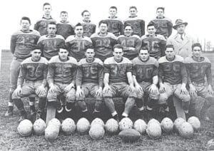 The Hoover 1949 team is in the Carman-Ainsworth Hall of Fame. Photo provided
