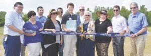 A ribbon cutting was held for the Mundy Miracle Commons Recreation Area and its new 1.8-mile nature trail. Photos by Ben Gagnon