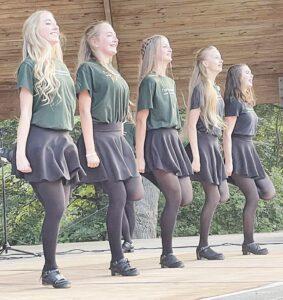 Hubbardston Irish Dance Troupe.