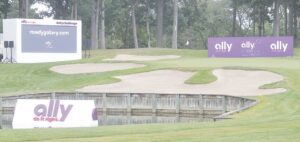 The iconic 17th hole at Warwick Hills will be surrounded by spectators this year for the Ally Challenge. Photo by Ben Gagnon