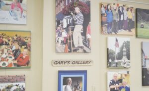 Examples of Gary Nickel's extensive photography are now displayed at the Flushing Area Senior Center. Photos by Ben Gagnon