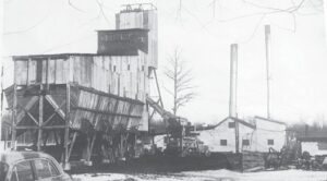The What Cheer Coalmine in Burton Township. Photo provided