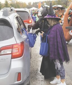 Last year was the first Drive-Thru Trunk or Treat at Lake Callis in Davison Township. File photo